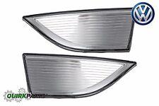 2012-2015 VW Volkswagen Passat NAR LH RH Front Fog Lamp Light Trim Set OEM NEW