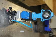 """New Moniteur 4in-e1n-sf Actuated Butterfly Valve 2"""" Challenger Pa-075Sr12B"""