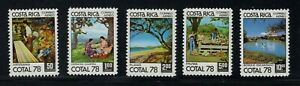 COSTA RICA 1978 21st.Congress of Confederation of L A Tourist Organisations. MNH