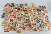 (116) VINTAGE  CARDBOARD COASTERS BREWANIA, ARTS AND CRAFTS