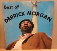DERRICK MORGAN BEST OF DERRICK MORGAN OG UK DOCTOR BIRD LP DLMB5014