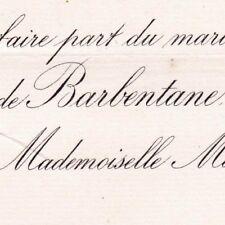 Roger Robin De Barbentane 1881 Marthe Anne De Ribes