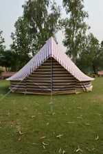 Canvas Tent 4m Canvas Bell Tent Purple Ultimate ZIG 100% cotton Zipped in GSHEET