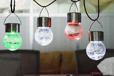 4pcs Solar LED Light Hanging Lamp Outdoor Landscape Home Decoration Street Light