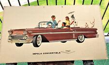 1958 Chevrolet Poster - Impala Convertible