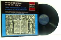 THURSTON DART notre dame de paris in the 13th century LP EX/VG+ SFL 14133, vinyl