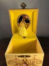 "Disney Spinning Belle ""Beauty & The Beast Tune"" Jewelry Music Box"