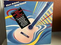 Chet Atkins, Stay Tuned, Promo Vinyl LP, Rock & Urban Jazz, Columbia 1983