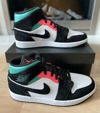 Nike Air Jordan 1 Mid SE South Beach Hot Punch Size UK 8 EU 42.5 US9 Brand New