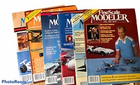 Vintage Lot of 6 Fine Scale Modeler Magazines 1982 1983 1985