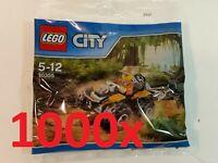 LEGO® CITY - 1000x 30355 Dschungel Quad - POLYBAG NEU / OVP