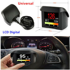 Car OBD LCD Smart Digital Trip Computer Fault Code Water Thermometer Tachometer