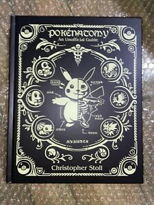 Pokenatomy Unofficial Pokemon Anatomy Guide Book Chris Stoll Hardcover Very Rare