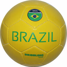 BRAZIL Soccer ball DRIBBLING - Size 5 - Official size and weight