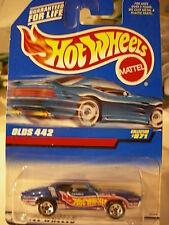 Hot Wheels Olds 442 #871 Richard written on side of car