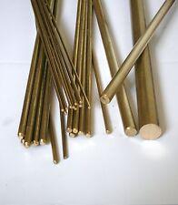 New  Brass Round Bar/Rod 12 mm Diameter x 200 mm