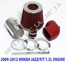 RED 2009 2010 2011 2012 HONDA JAZZ FIT LX DX 1.5 1.5L AIR INTAKE KIT SYSTEMS