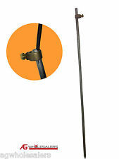 EARTH GROUNDING ROD & CLAMP FOR ELECTRIC FENCE CHARGER ENERGISER GROUND SOLAR