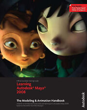Learning Autodesk Maya 2008, (Official Autodesk Training Guide,-ExLibrary