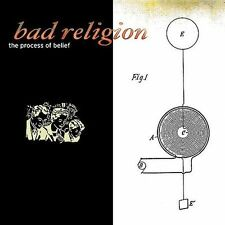 The Process of Belief by Bad Religion (CD 2004 Epitaph) w/ Slipcase Outer Sleeve