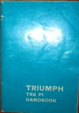 * Triumph TR6  TR 6 PI Handbook  Betriebsanleitung - english - original 1977 *