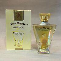 Guerlain Too Much Champs-Elysees for women 1.7 oz / 50 ml eau de toilette Spray