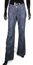 GJ4-118 Street One Phoenix Damen Schlagjeans Flare Jeans blau W28 L34 low rise