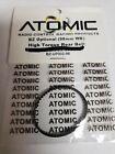 ATOMIC RC # BZ-UP002-98 BZ OPTIONAL (98MM WB) HIGH TORQUE REAR BELT