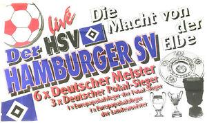 Hamburger SV live HSV - Fahne Flagge Flag Fussball #540