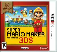 Super Mario Maker (Nintendo selects 3DS )