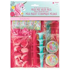 Grand Paquet 48 X Magique Licorne Anniversaire Cadeau Fête