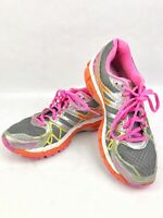 Women's Gel-Kayano 20 Running Shoes Gray Pink Size 8.5 IGS 20th Anniversary 01