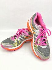 Women's Gel-Kayano 20 Running Shoes Gray Pink Size 8.5 IGS 20th Anniversary 01