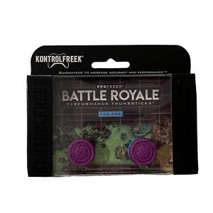 KontrolFreek Battle Royale Fortnite Thumbsticks PS4 PS5 New PlayStation Purple