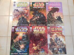 Star Wars Dark Empire II (2)  1-6 (Dark Horse comics) 9.9 MINT