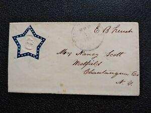 Civil War: Washington, DC 1861 George Washington Embossed Design in Star Cover