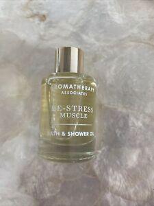 Aromatherapy Associates De-Stress Muscle Bath & Shower Oil 9ml in Glass bottle