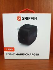 GRIFFIN Single USB-C Mains Charger | Overcharge Protection | BNIB