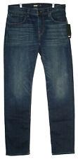 Hudson Mens Jeans Size 34 Blake Slim Straight Blue
