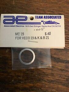 Vintage Associated McCoy MC15 .005 Head Gasket Veco-McCoy & K&B 21 1/8 RC Car