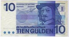 More details for 1968 netherlands ten gulden bank note | pennies2pounds