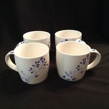 Churchill Heyesmere Blue Mugs x 4