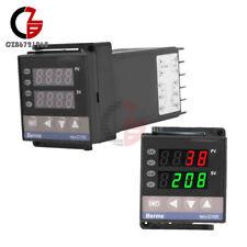 Digital Pid Temperature Controller Ssr K Type Thermocouple Rex C100 0 400 C