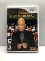 Nintendo Wii - Deal or No Deal - Complete w/ Manual - Clean & Tested Working