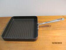 "All-Clad Hard Anodized Non-Stick 11"" Square Kitchen Grill Pan"