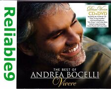 Andrea Bocelli -The best of Vivere Deluxe CD+DVD Digipak+24pg booklet- 1998 AUS