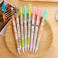 4pcs 0.5mm Mechanical Pencil Automatic Pen Pencil School Office Supplies  pop