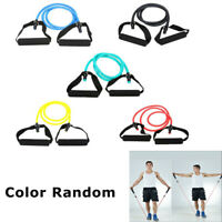 Resistance Band Yoga Stretching Tension Rope Fitness Exercise Latex  Band