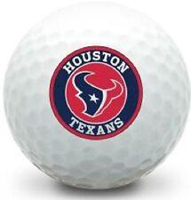 3 Dozen Titleist Pro V1 Mint / Aaaaa (Houston Texans Nfl Circle Logo) Golf Balls