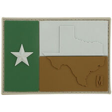 PVC Morale Patch - MAXPEDITION - TEXAS FLAG - ARID Color pattern - Hook & Loop